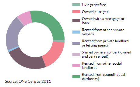 Property ownership for Abbey for 2011